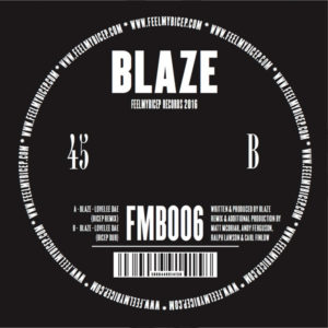"Blaze/LOVELEE DAE (BICEP REMIXES) 12"""