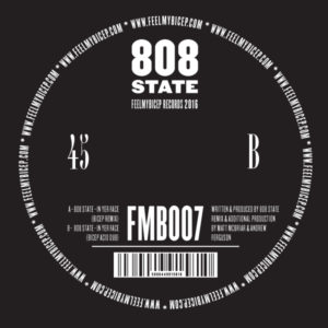 """808 State/IN YER FACE (BICEP RMX'S) 12"""""""