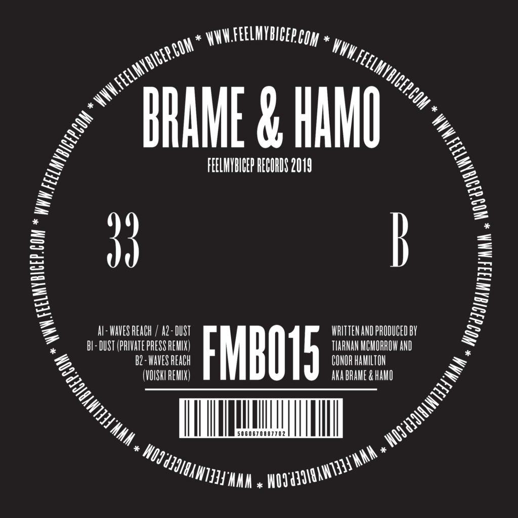 "Brame & Hamo/WAVES REACH 12"""