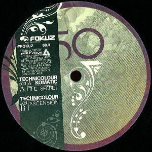 "Technicolour & Komatic/THE SECRET 12"""