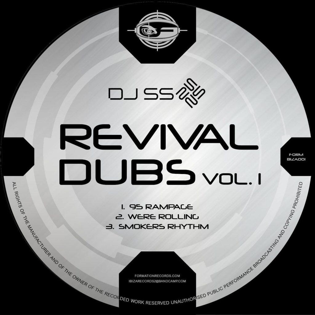 """DJ SS/REVIVAL DUBS VOL. 1 12"""""""
