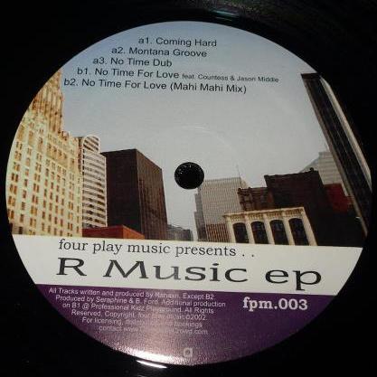 "Rahaan/R MUSIC EP (REPRESS) 12"""