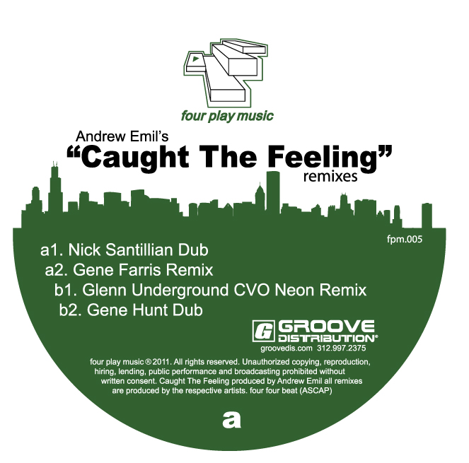 Andrew Emil/CAUGHT THE FEELING RMXS 12""