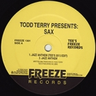"""Todd Terry/PRESENTS SAX 12"""""""
