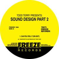 """Todd Terry/SOUND DESIGN PART 2 12"""""""