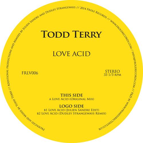 "Todd Terry/LOVE ACID 12"""