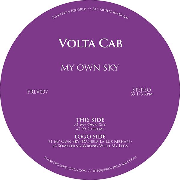 "Volta Cab/MY OWN SKY 12"""