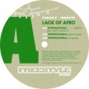 Lack Of Afro/INTERNATIONAL 12""