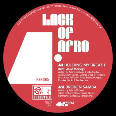 Lack Of Afro/HOLDING MY BREATH  12""