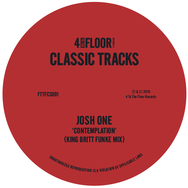 Various/4 TO THE FLOOR CLASSICS V1 12""