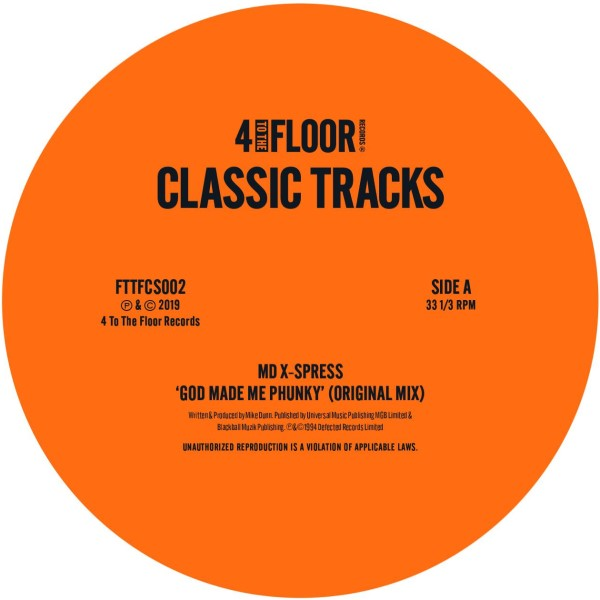 Various/4 TO THE FLOOR CLASSICS V2 12""