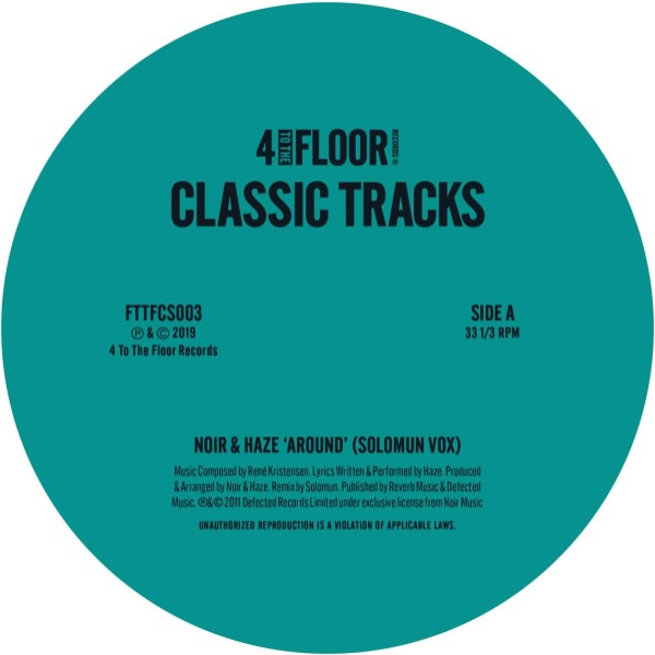 Various/4 TO THE FLOOR CLASSICS V3 12""