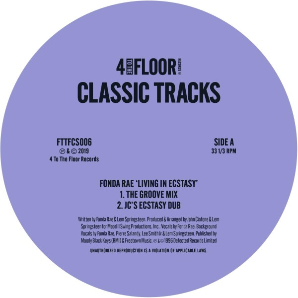 Various/4 TO THE FLOOR CLASSICS V5 12""