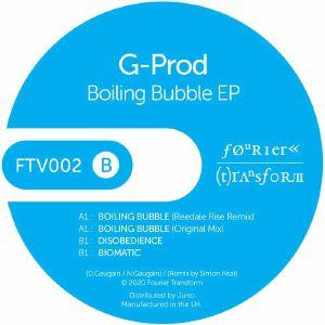 """G Prod/BOILING BUBBLE EP 12"""""""