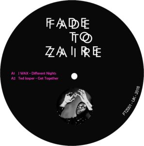 Various/FADE TO ZAIRE 001 12""