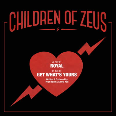 Children Of Zeus/ROYAL 7""