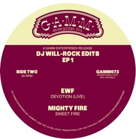 """DJ Will/ROCK EDITS EP 1 12"""""""
