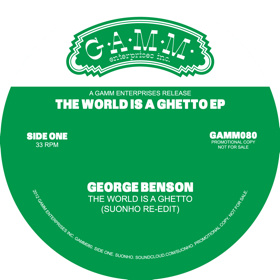 Suonho/THE WORLD IS A GHETTO 12""