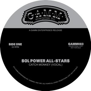 "Sol Power All-Stars/CATCH MONKEY 12"""