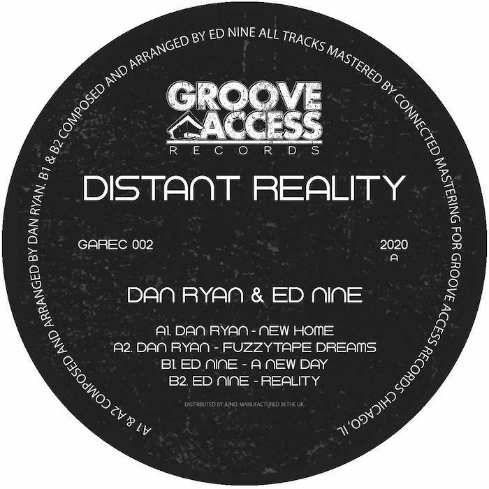 "Dan Ryan & Ed Nine/DISTANT REALITY 12"""