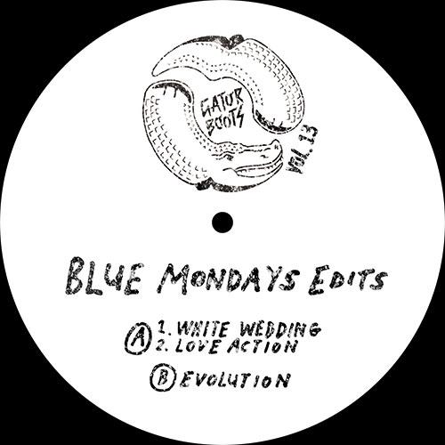 "Blue Mondays/GATOR BOOTS VOL. 13 12"""