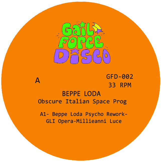 """Beppe Loda/OBSCURE SPACE PROG 12"""""""