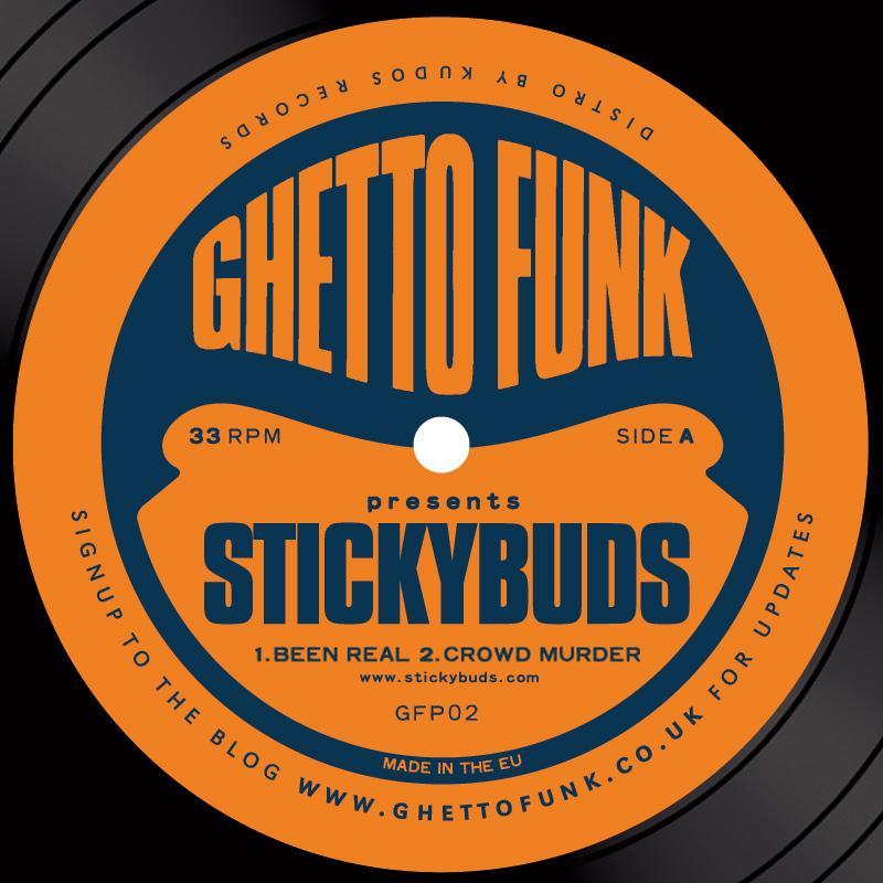 "Stickybuds/GHETTO FUNK PRESENTS  12"""