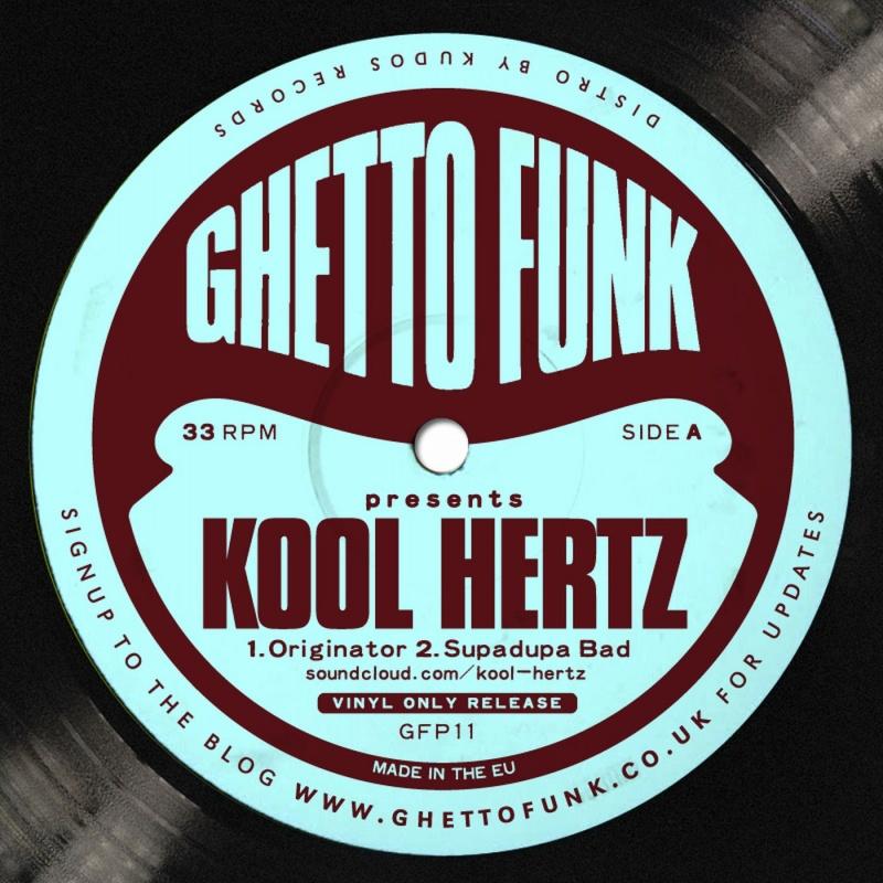 "Kool Hertz/GHETTO FUNK PRESENTS  12"""