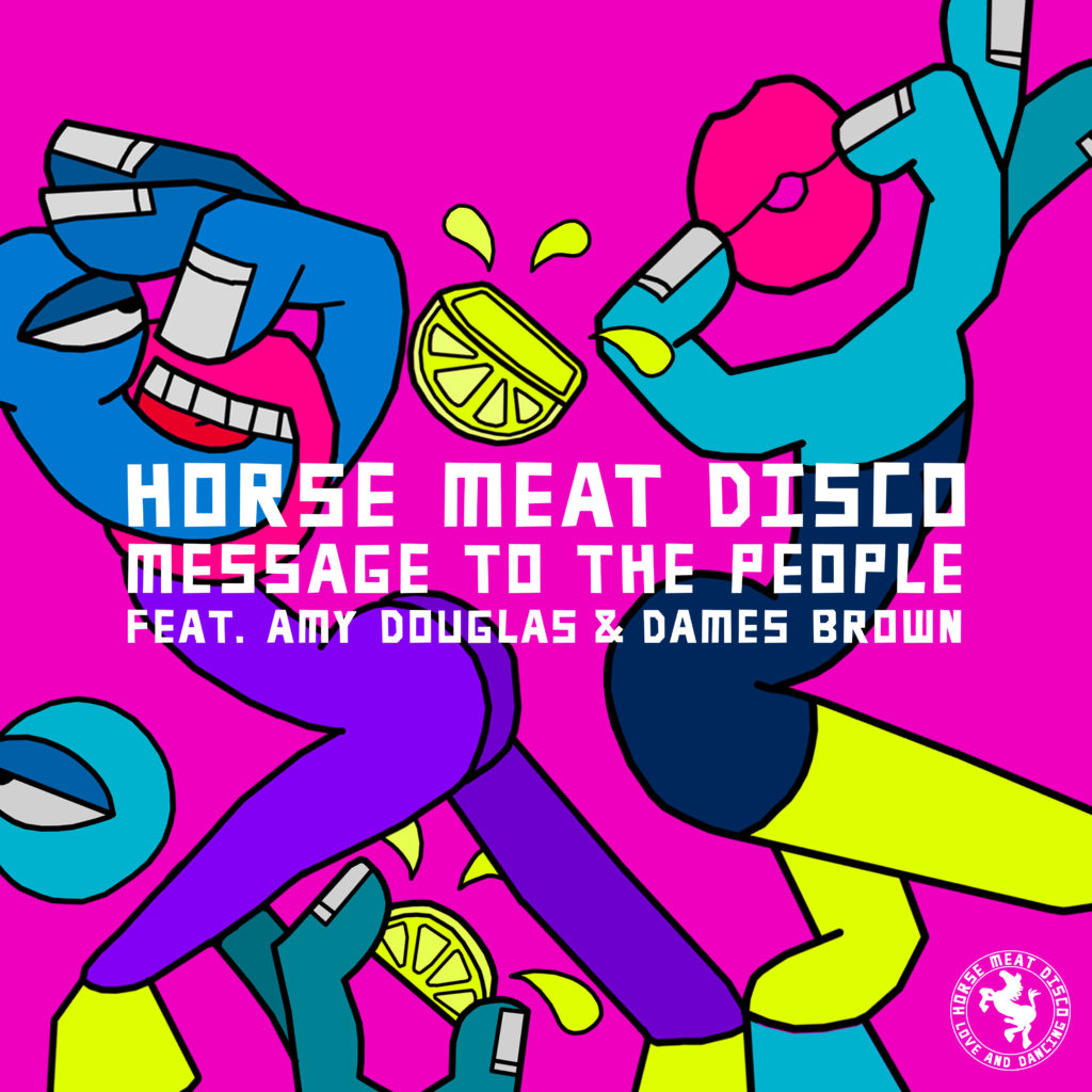 Horse Meat Disco/MESSAGE TO THE... 12""
