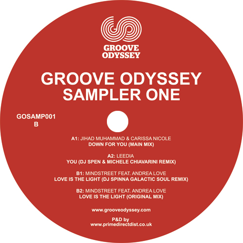 Various/GROOVE ODYSSEY SAMPLER ONE 12""