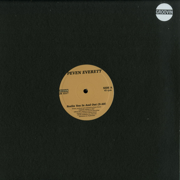 """Peven Everett/FEELIN YOU IN AND OUT 12"""""""