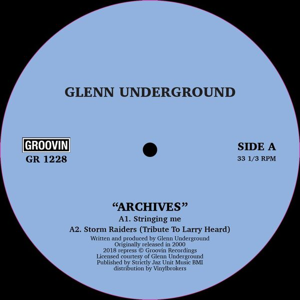 "Glenn Underground/ARCHIVES 12"""