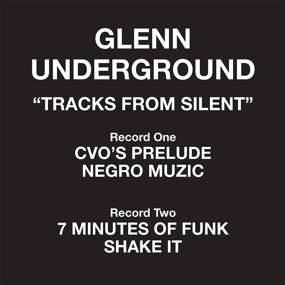 "Glenn Underground/TRACKS FROM...D12"""