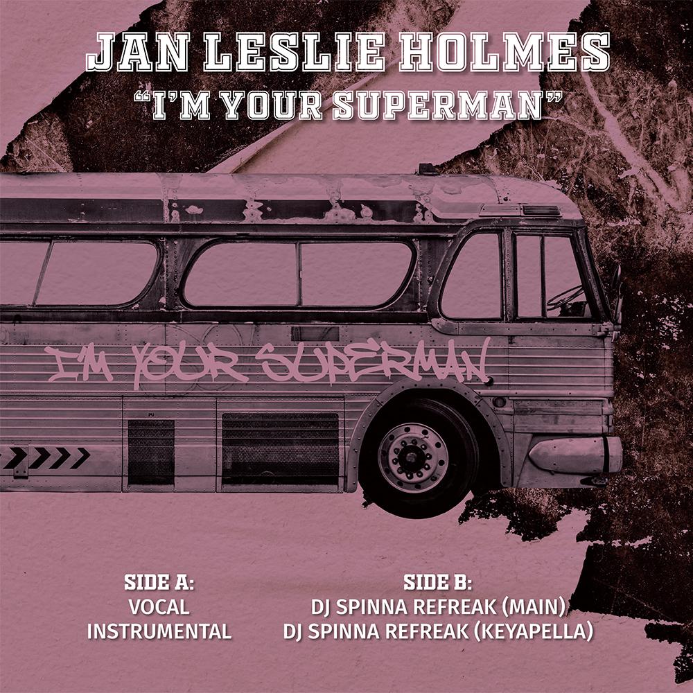 """Jan Leslie Holmes/I'M YOUR SUPERMAN 12"""""""