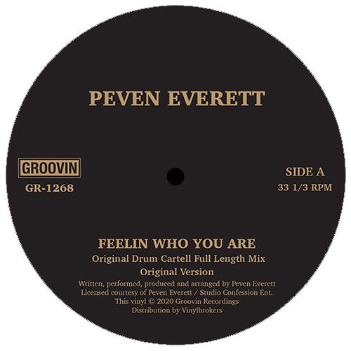 """Peven Everett/FEELIN WHO YOU ARE 12"""""""