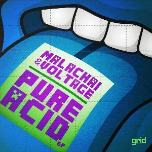 "Malachai & Voltage/PURE ACID EP D12"""