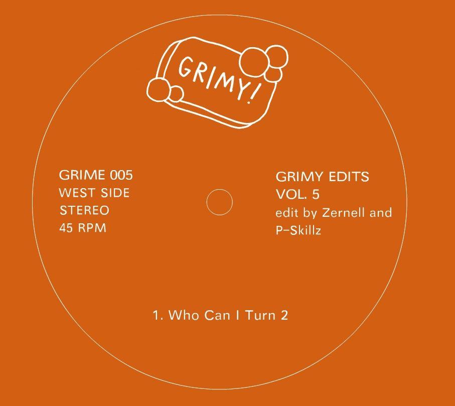 """Various/GRIMY EDITS VOL. 5  12"""""""
