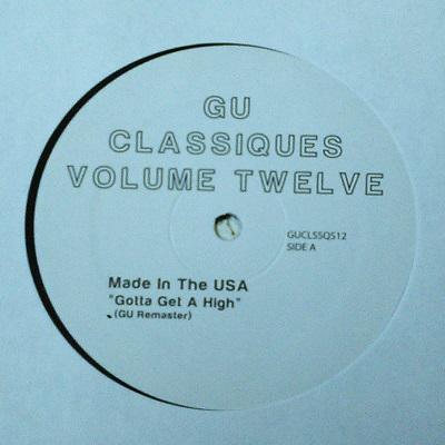 "Glenn Underground/CLASSIQUES VOL. 12 12"""