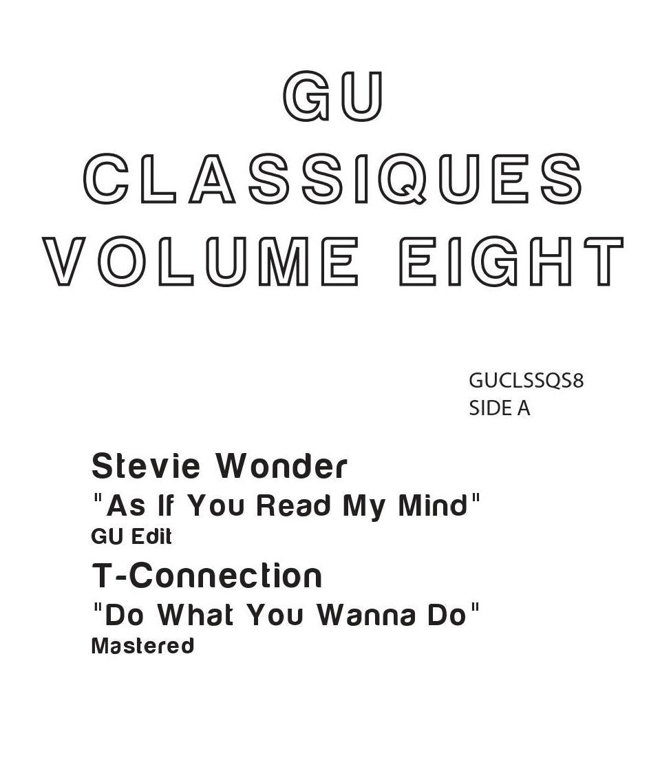 "Glenn Underground/CLASSIQUES VOL. 8 12"""