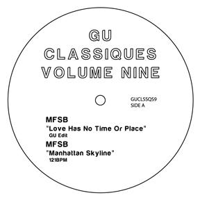 "Glenn Underground/CLASSIQUES VOL. 9 12"""