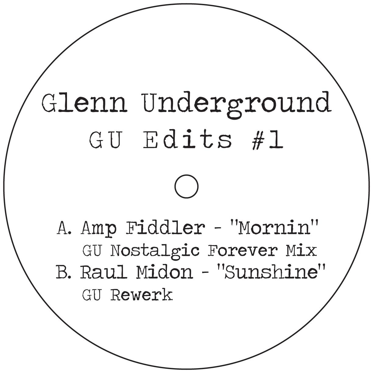 """Glenn Underground/GU EDITS #1 12"""""""