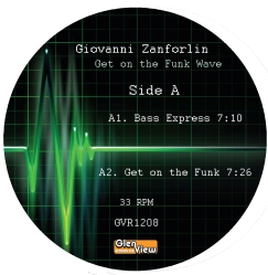 """Giovanni Zanforlin/GET ON THE FUNK.. 12"""""""