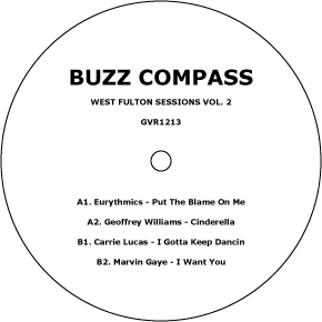 """Buzz Compass/WEST FULTON SESSIONS #2 12"""""""