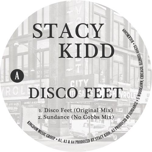 "Stacy Kidd/DISCO FEET-SUNDANCE REMIX 12"""