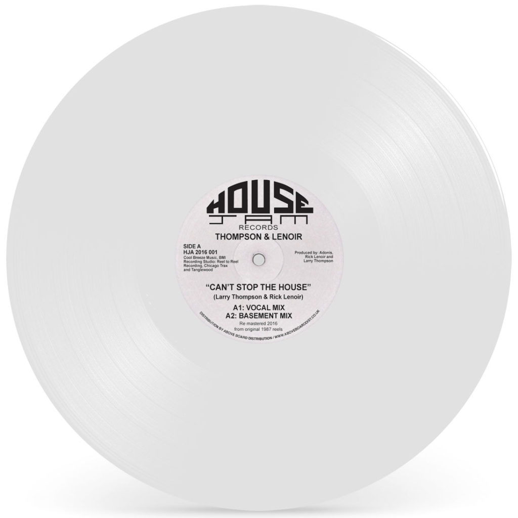 LNR/CAN'T STOP THE HOUSE (WHITE) 12""