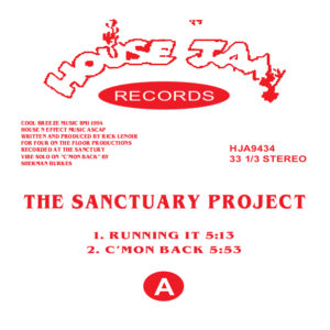 Sanctuary Project/RUNNING IT 12""