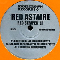 Red Astaire/RED STRIPED EP 12""