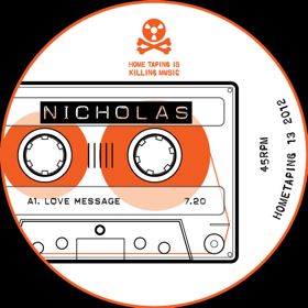 "Nicholas/LOVE MESSAGE 12"""