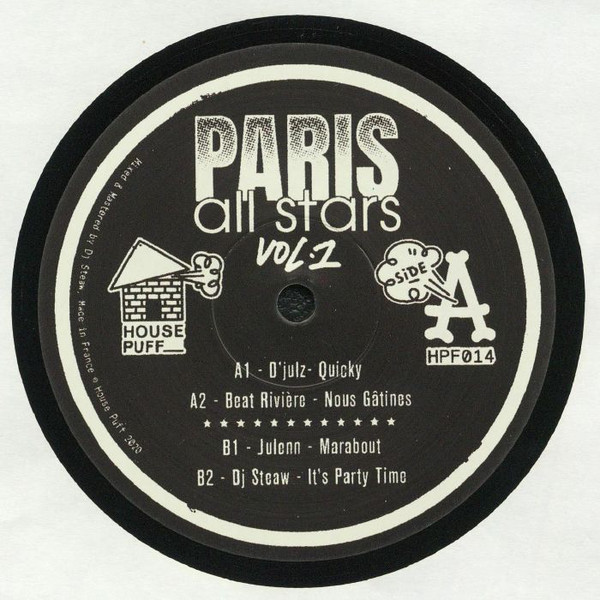 Various/PARIS ALL STARS VOL. 1 12""