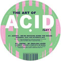 "Various/THE ART OF ACID PART 1 12"""